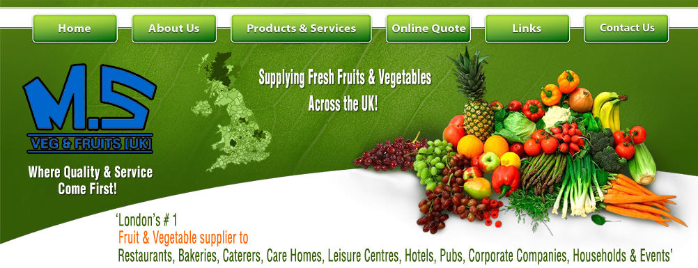 vegetables and fruits wholesale suppliers uk