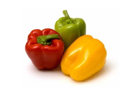 Bell Peppers from Holland